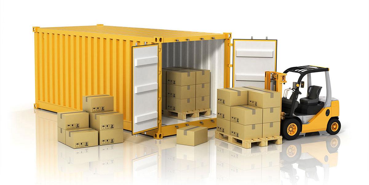Kontejnér jako skladovací prostor