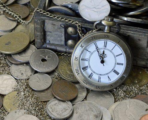 Peníze a hodiny