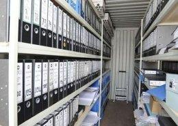 Lodní kontejner jako sklad nebo archiv