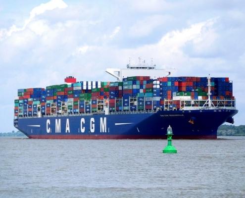 Lodní kontejner po celém světe